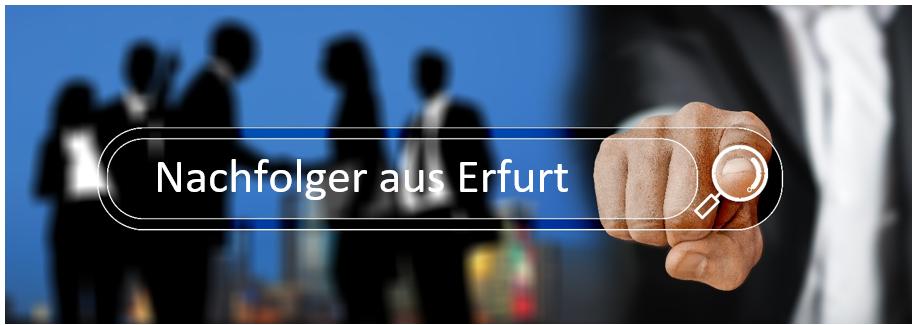 Bestandsnachfolger aus Erfurt sucht einen Maklerbestand oder Maklerunternehmen im Raum Thüringen: Erfurt, Weimar, Jena, Arnstadt, Nordhausen, Eisenach, Gotha, Mühlhausen, Bad Langensalza oder Umgebung.