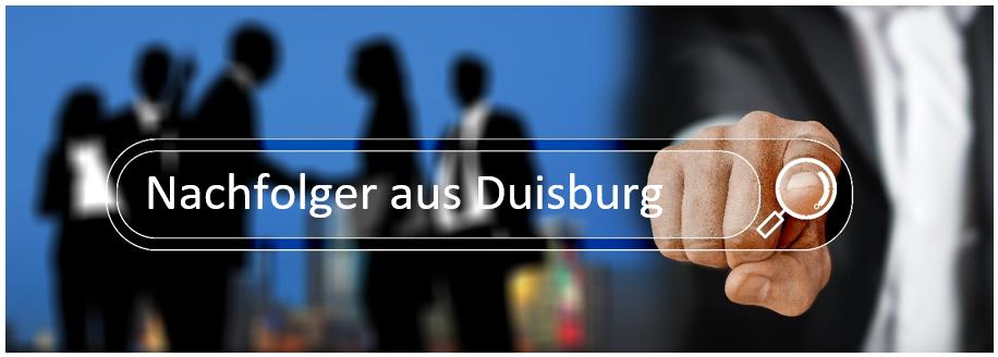 Bestandsnachfolger aus Duisburg sucht einen Maklerbestand oder Maklerunternehmen in den Regionen Duisburg, Moers oder Krefeld.