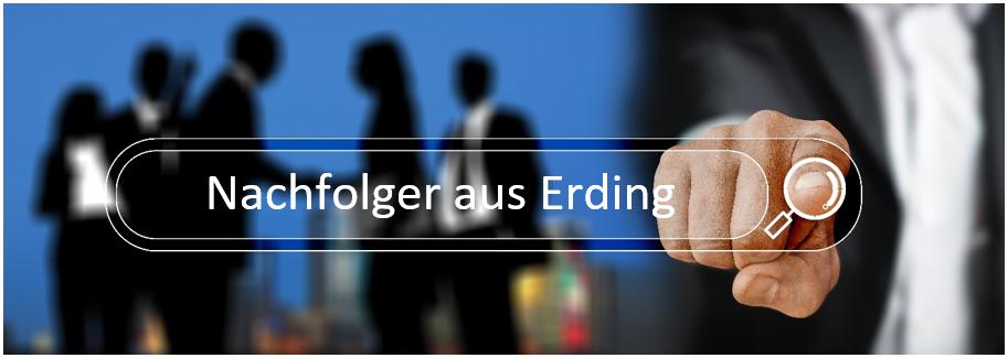 Bestandsnachfolger aus Erding sucht einen Maklerbestand oder Maklerunternehmen aus den Regionen Erding, Freising, Moos, Taufkirchen, Dorfen, Vaterstetten, München, Unterschleissheim.