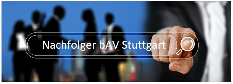 Bestandsnachfolger bav aus Stuttgart sucht Maklerbestände oder Maklerunternehmen in ganz Deztschland.